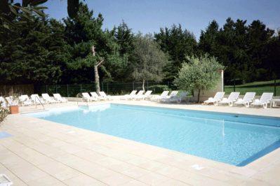LES MADIERES-La piscine du camping LES MADIERES-PORDIC