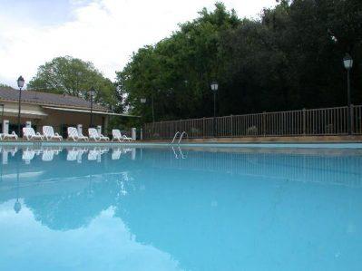 LA CROIX CLEMENTINE-La piscine du camping LA CROIX CLEMENTINE-CENDRAS