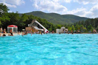 LES PLANS-Le parc aquatique du camping LES PLANS-ANDUZE