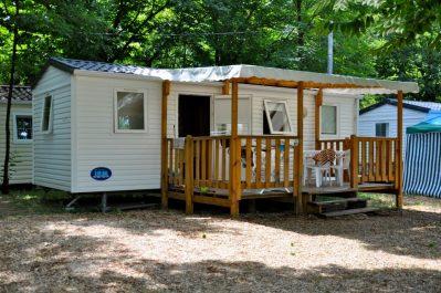 LES PLANS-Les mobil-homes du camping LES PLANS-ANDUZE