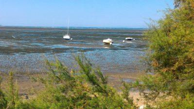 FONTAINE VIEILLE-Accès direct à la plage pour le camping FONTAINE VIEILLE-ANDERNOS LES BAINS