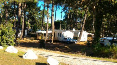 FONTAINE VIEILLE-Les mobil-homes du camping FONTAINE VIEILLE-ANDERNOS LES BAINS
