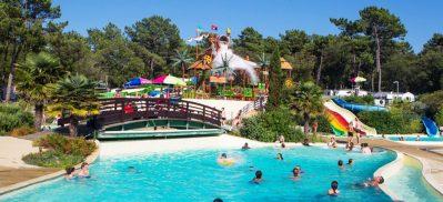 LA COTE D'ARGENT-Le camping LA COTE D'ARGENT, das Departement Gironde-HOURTIN