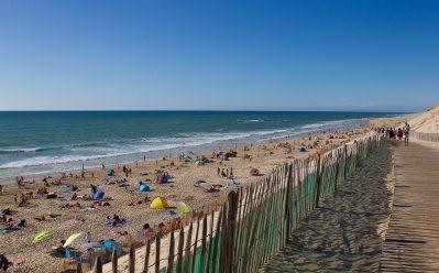 LA COTE D'ARGENT-La plage-HOURTIN