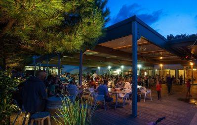 LA COTE D'ARGENT-Le restaurant du camping LA COTE D'ARGENT-HOURTIN