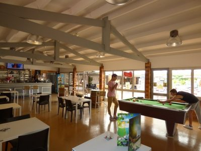 LES OURMES - Le bar du camping LES OURMES - HOURTIN
