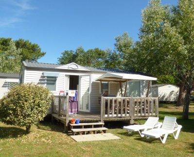 LES OURMES - Les mobil-homes du camping LES OURMES - HOURTIN