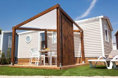 CENTRE NATURISTE RENE OLTRA-Les mobil-homes du camping CENTRE NATURISTE RENE OLTRA-AGDE