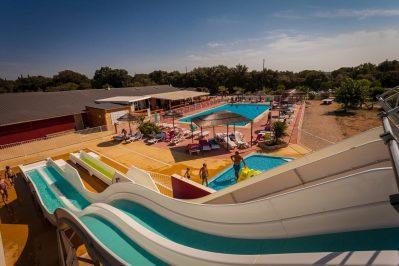 DOMAINE DE GAJAN-Le parc aquatique du camping DOMAINE DE GAJAN-BOISSERON