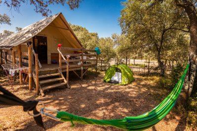 DOMAINE DE GAJAN-Les hébergements insolites du camping DOMAINE DE GAJAN-BOISSERON