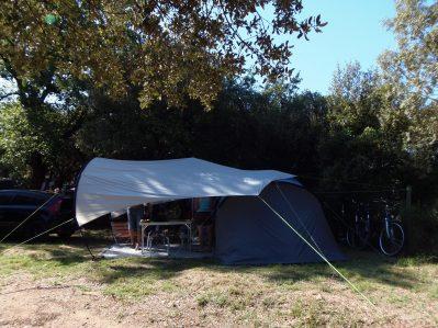 DOMAINE DE GAJAN-Les emplacements du camping DOMAINE DE GAJAN-BOISSERON