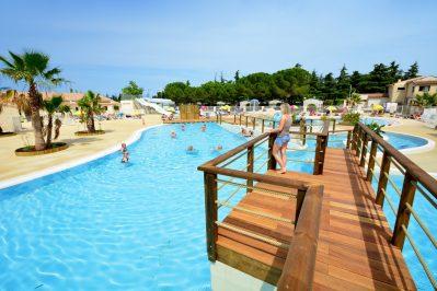 BON PORT-Le parc aquatique du camping BON PORT-LUNEL