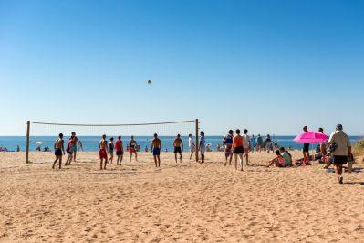 LES SABLONS-Accès direct à la plage pour le camping LES SABLONS-PORTIRAGNES