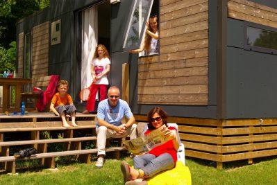 NANTES CAMPING-Les mobil-homes du camping NANTES CAMPING-NANTES