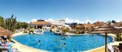 LA BOUTINARDIERE-La piscine du camping LA BOUTINARDIERE-PORNIC
