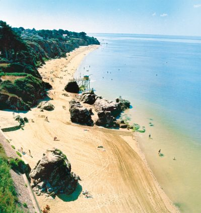 LA BOUTINARDIERE-Accès direct à la plage pour le camping LA BOUTINARDIERE-PORNIC