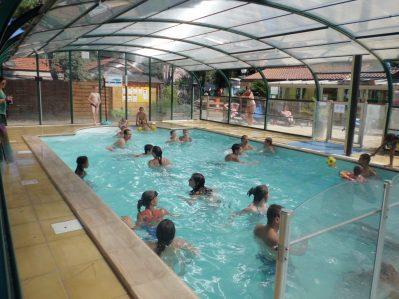 CAMPING DE MINDIN-La piscine couverte et chauffée du camping CAMPING DE MINDIN-SAINT BREVIN LES PINS