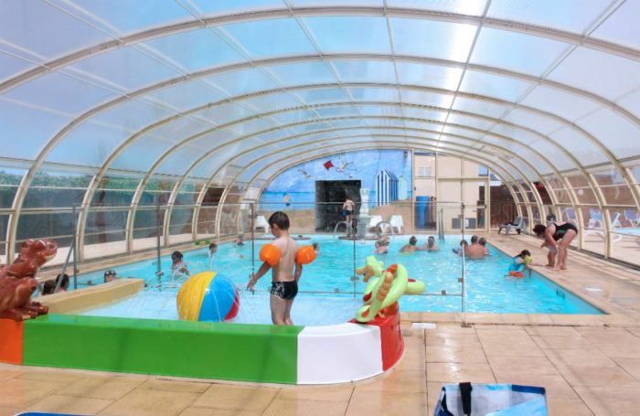 The Covered And Heated Pool Of The Campsite Of The Campsite LE CORMORAN ...