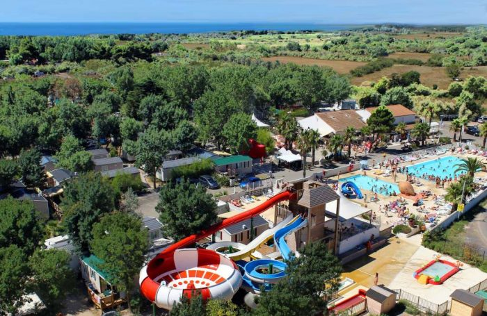 Le Camping LES ONDINES, Hérault