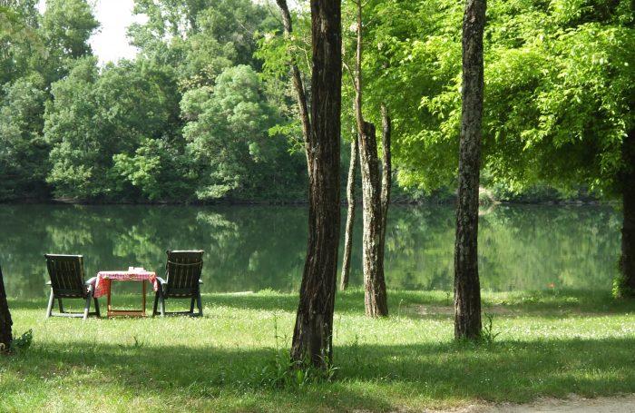 Camping LA ROUBINE à VallonPontdArc Ardèche CampingFrancecom - Camping a vallon pont d arc avec piscine