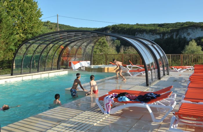 Nice Swimming Pool Of The Campsite LA SAGNE ...