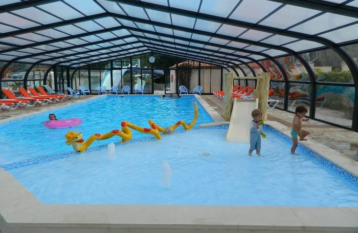 The Covered And Heated Pool Of The Campsite Of The Campsite LE RAGIS ...