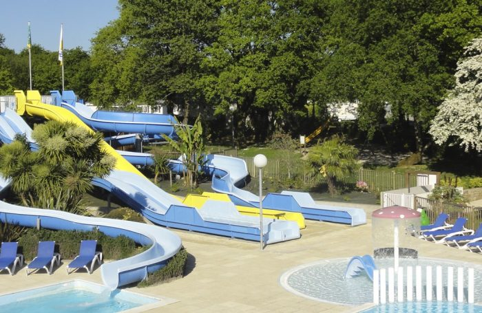 Waterslides Of The Campsite LE HARAS ...