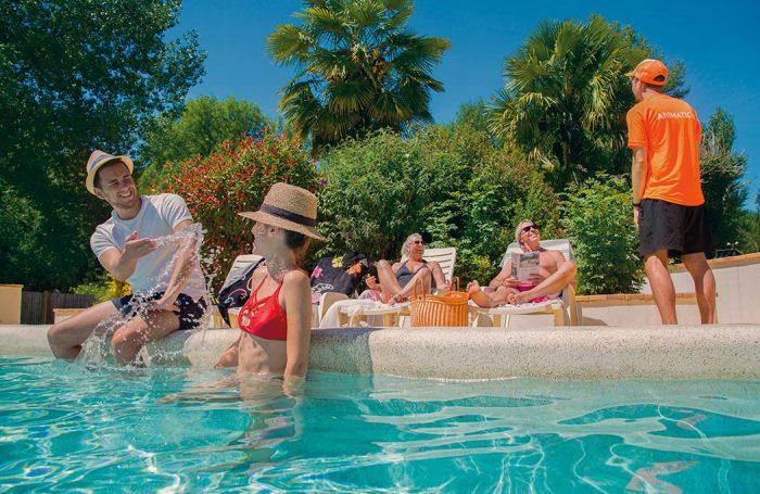 Campsite Aqua Viva In Carsac Aillac Dordogne Campingfrance Com