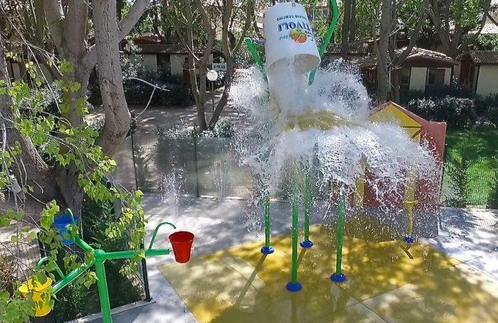 water area of the campsite les jardins de tivoli - Jardins De Tivoli