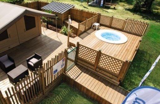 campingplatz le soleil des landes in lit et mixe landes. Black Bedroom Furniture Sets. Home Design Ideas