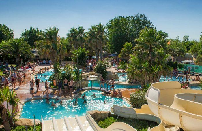 Campsite LE PETIT MOUSSE, Hérault; 21 Swimming Pool ...