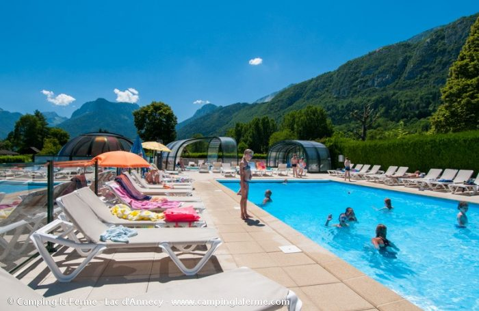 Camping La Ferme A Lathuile Haute Savoie Campingfrance Com