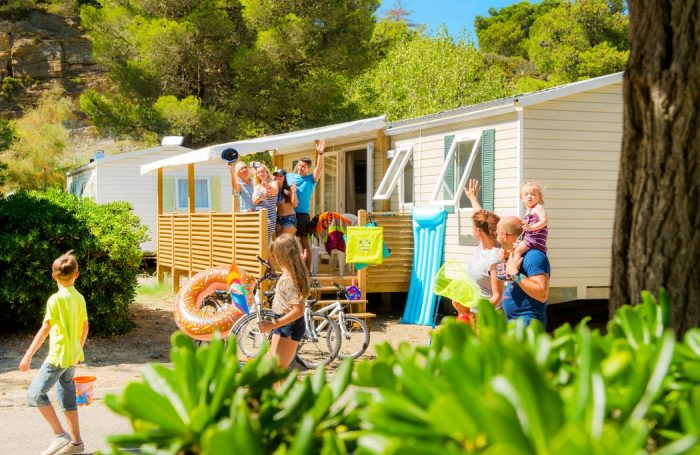 Campsite Falaise Narbonne Plage In Narbonne Aude