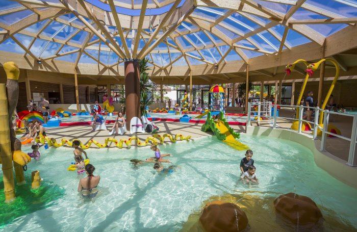 Supérieur Jeux Aquatiques Au Camping RESORT LA RIVE, Landes ...