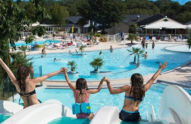 Superb Campsite MANE GUERNEHUE, Morbihan; 24 The Covered And Heated Pool ...