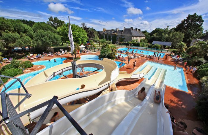 Captivating Swimming Pool Of The Campsite CHATEAU DE GALINEE ...