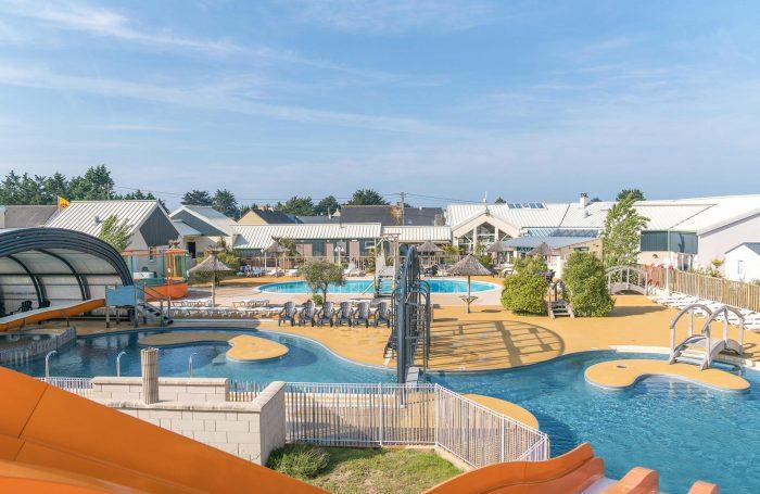 Etonnant Le Parc Aquatique Du Camping LES VIKINGS ...