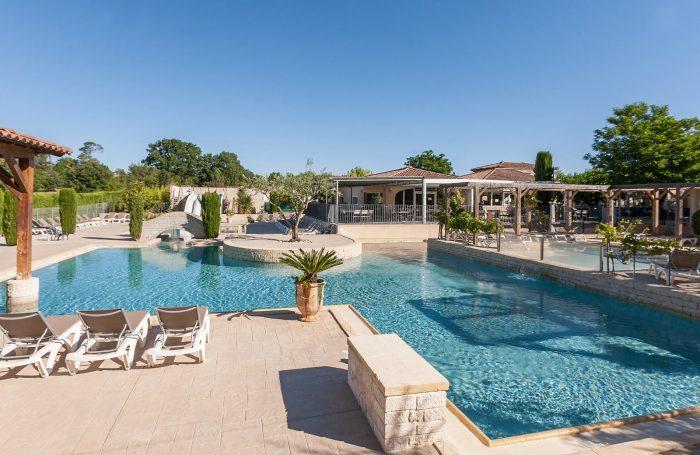 Swimming Pool Of The Campsite LA PLAINE ...
