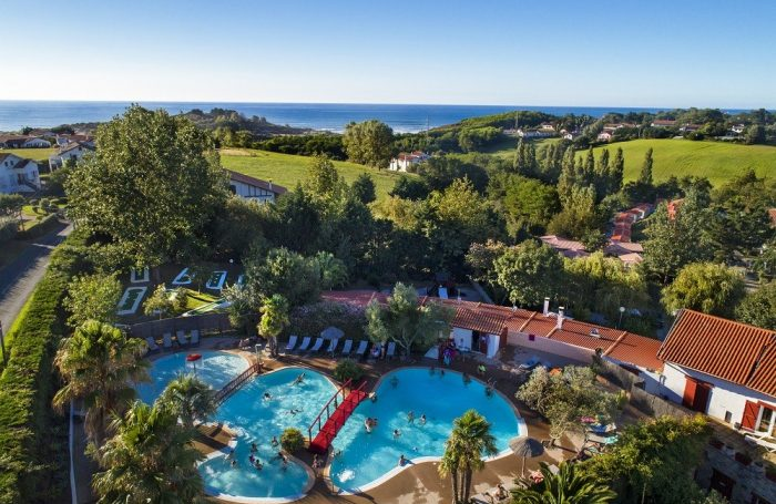 The Water Park Seen From The Sky; 21 Swimming Pool Of The Campsite  ATLANTICA ...