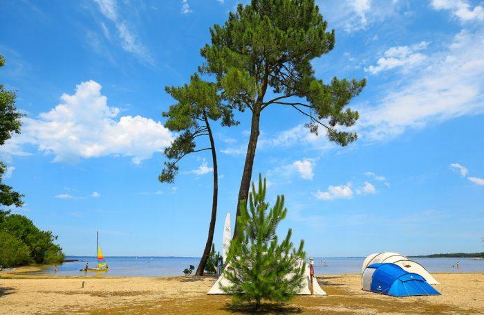 Camping Navarrosse in Biscarrosse