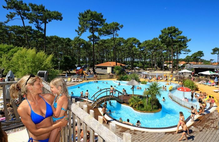 Campsite PLAGESUD In Biscarrosse Landes CampingFrancecom - Location biscarrosse plage avec piscine