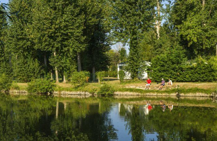 Camping LA DUNE FLEURIE *** à Quend Somme - CampingFrance.com