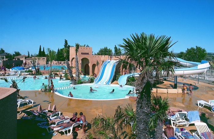 Camping les mimosas narbonne aude for Camping a carcassonne avec piscine