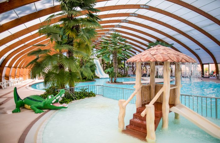 The Covered And Heated Pool Of The Campsite Of The Campsite VILLAGE PORT DE  PLAISANCE ...
