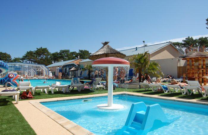 Camping club marina landes mimizan landes for Piscine mimizan