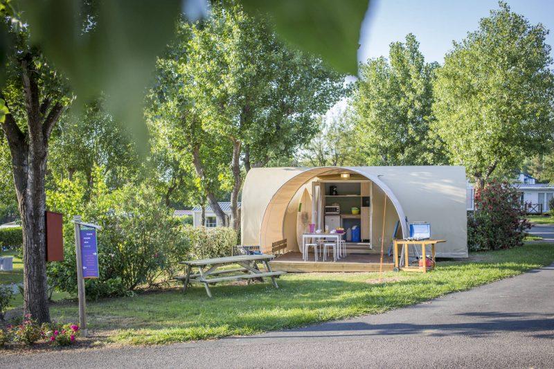 AMETZA-Les hébergements insolites du camping AMETZA-HENDAYE