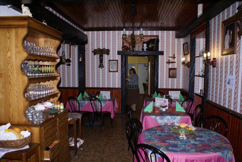 AU RELAIS DU GRAND BALLON-Le restaurant du camping AU RELAIS DU GRAND BALLON-GEISHOUSE