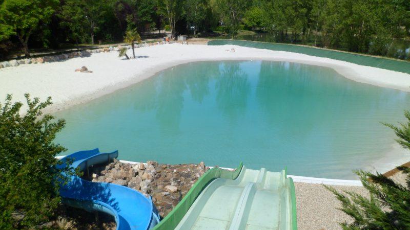 LE PLAN D'EAU ST CHARLES-Le parc aquatique du camping LE PLAN D'EAU ST CHARLES-DAMIATTE