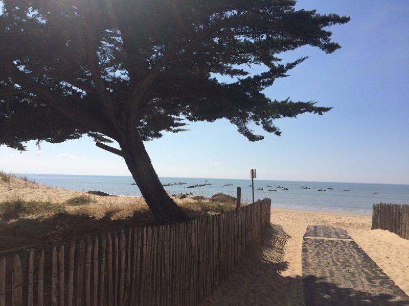 LA GRANDE VALLEE-La plage-TRANCHE SUR MER