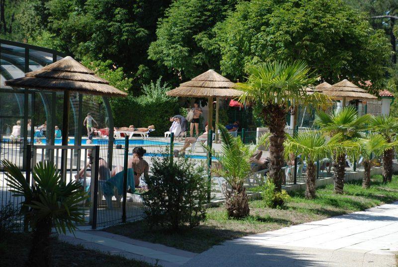 LA CLAIRIERE-La piscine du camping LA CLAIRIERE-TREMBLADE